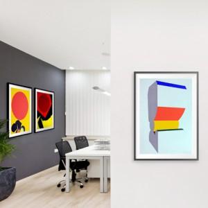 Art contemporain en entreprise pour décorer vos bureaux - Arts Affaires