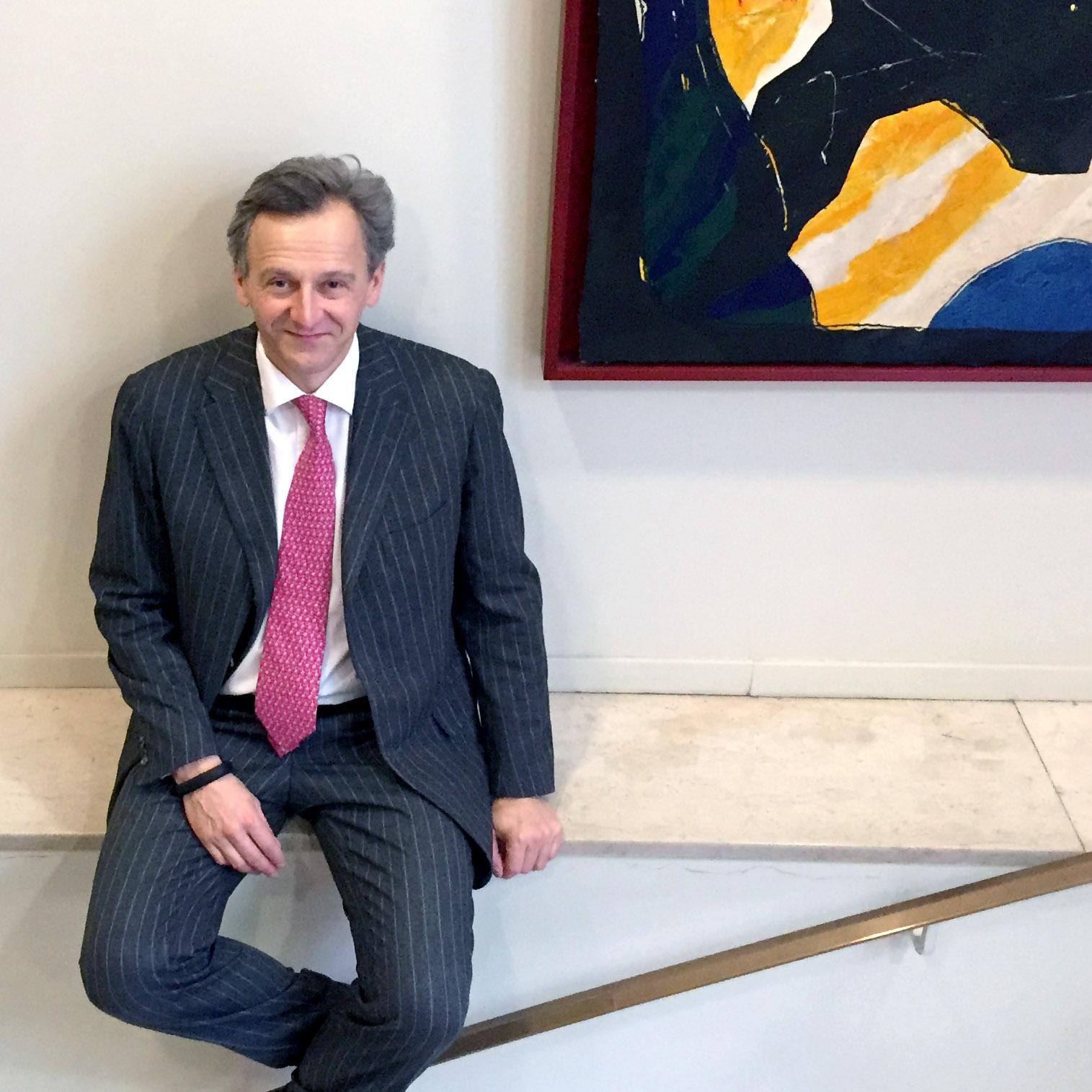 Matthieu Jacquillat Fondateur de Arts Affaires agence d'art contemporain