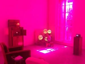Eric Michel et sa « Chambre des Lumières » rose - art contemporain - Arts Affaires