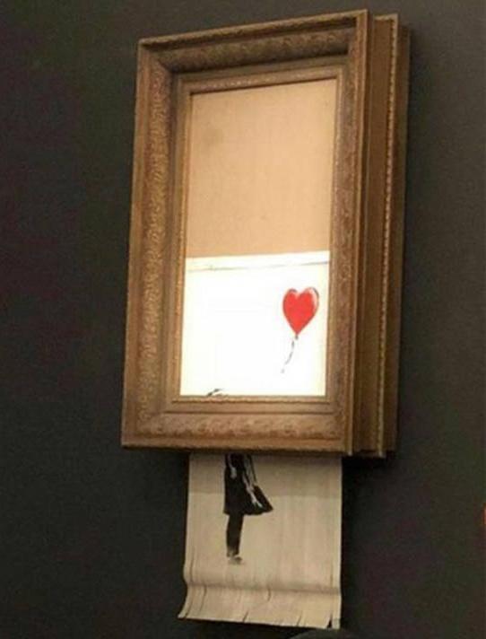 Le buzz Banksy vu par Arts Affaires, agence d'art contemporain