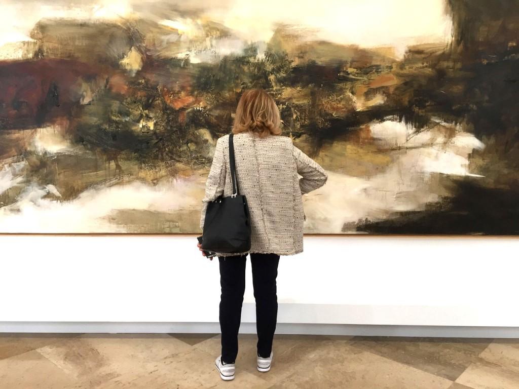 Expo Zao Wou-Ki - visite privée par Arts Affaires