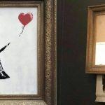 oeuvre d'art contemporain fille au ballon de banksy vu par arts affaires