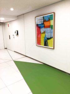 La scénographie d'exposition en entreprise par Arts Affaires