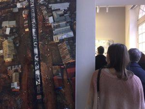 Visite privée de l'expo JR Momentum par Arts Affaires