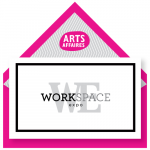 invitation arts affaires pour la workspace expo du 16 au 18 avril 2019