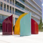 Art monumental immeuble Casden par Arts Affaires