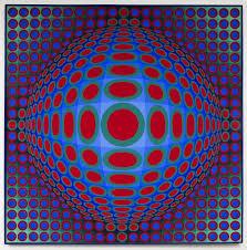 Vasarely - Vega 222, 1969-1970 -© Adagp, Paris, 2018