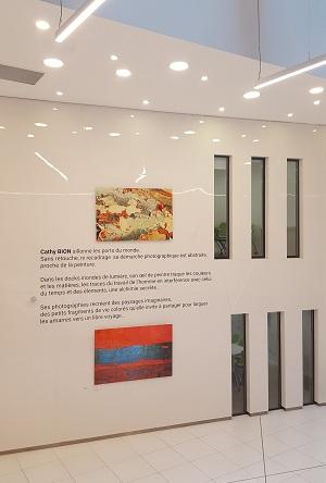 Exposition temporaire en entreprise par Arts Affaires