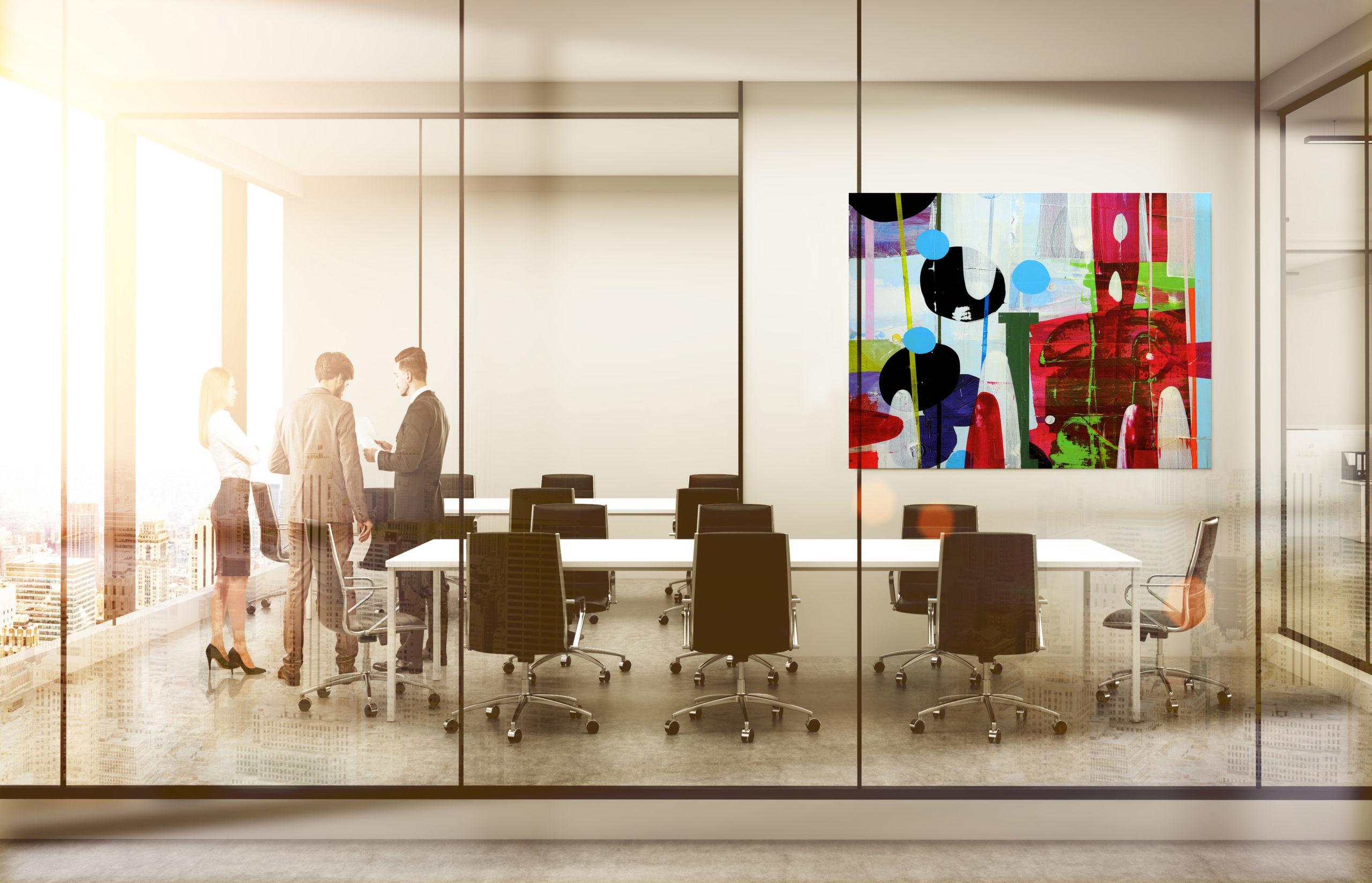 Arts Affaires agence d'art contemporain et location tableaux pour vos halls d'accueil-salle de reunion