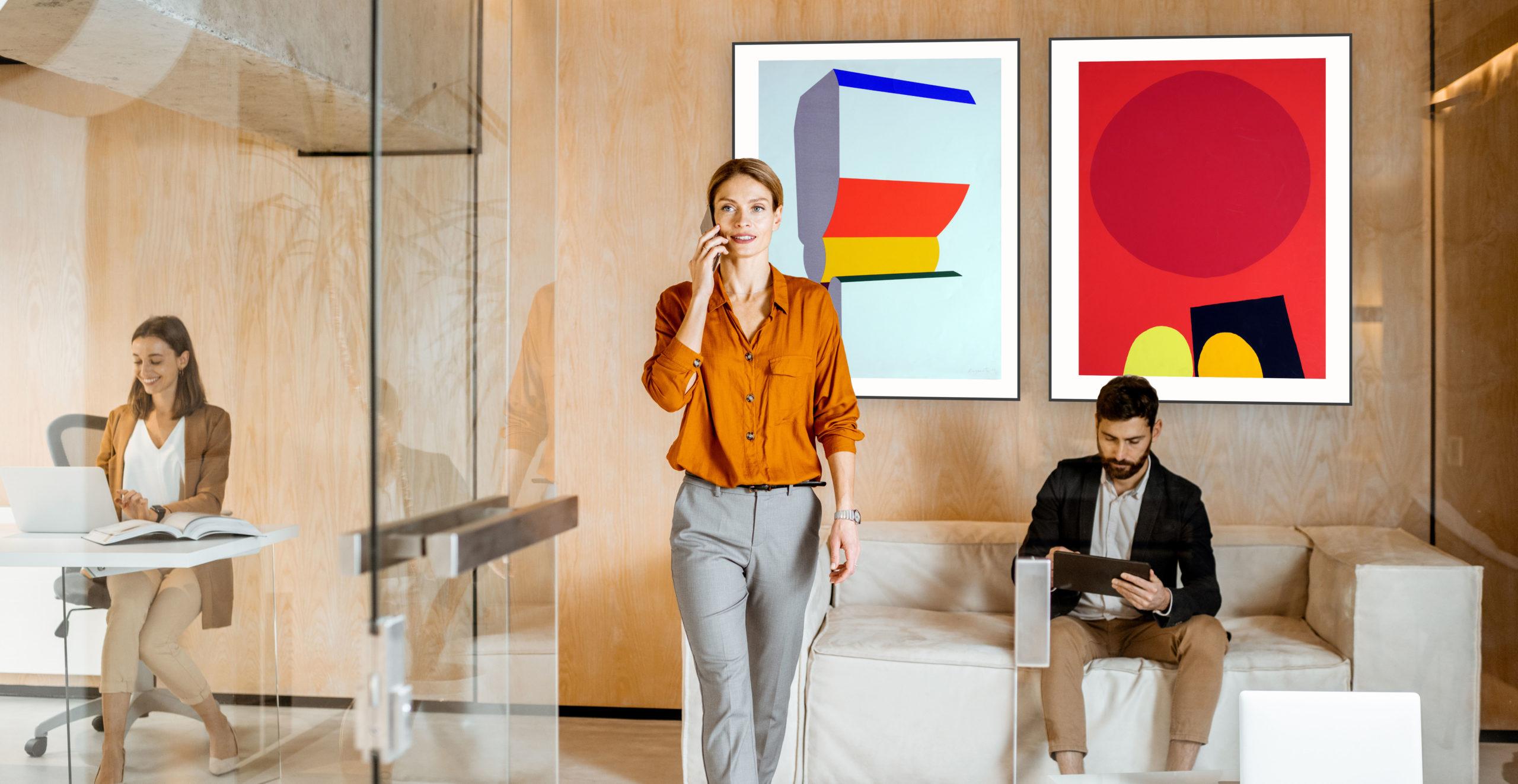 Arts Affaires agence d'art contemporain et location tableaux pour vos halls d'accueil