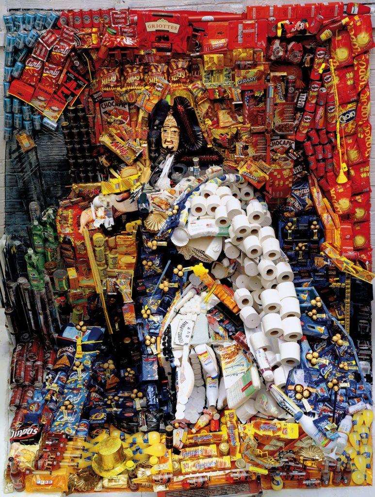 Œuvre de Bernard Pras - Louis XIV - collection Arts Affaires