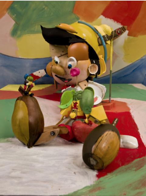Œuvre de Bernard Pras - Pinocchio - collection Arts Affaires